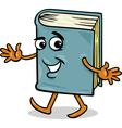 book character cartoon vector image vector image