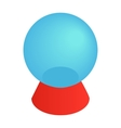 Magic ball isometric 3d icon vector image vector image