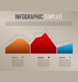 modern infographics with colorful diagram vector image vector image