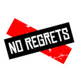 no regrets attention sign