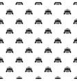 ribbon bowling club pattern seamless vector image vector image