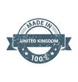 united kingdom stamp design vector image
