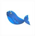 Blue Seal Icon vector image vector image