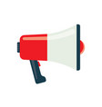 bullhorn icon vector image