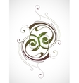 Calligraphy emblem vector image vector image