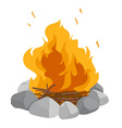 Campfire vector | Price: 3 Credits (USD $3)