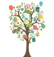 Gifts tree vector image vector image