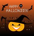halloween celebration backgrou vector image vector image