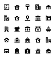 Real Estate Icons 3 vector image vector image