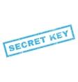Secret Key Rubber Stamp vector image vector image
