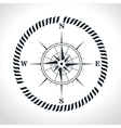 compass symbol retro icon vector image