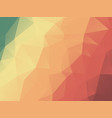 abstract color harmony triangles geometric vector image vector image