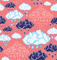 abstract pattern of clouds vector image vector image