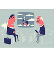 Angel investor and psychologist vector image