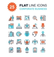 Corporate Business Icons vector image vector image
