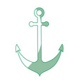 anchor icon image vector image vector image
