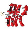 firecracker string vector image vector image