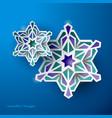 geometric art islamic background ramadan vector image vector image
