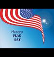 happy flag day 1 vector image vector image