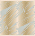 pale gray and cold gold strokes seamless pattern vector image vector image
