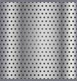 seamless metallic grid pattern vector image