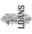 what are the loan benefits text word cloud concept vector image vector image