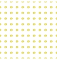 Gold Painted Marker Dots Seamless Pattern vector image