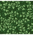 ivy seamless vector repeat pattern vector image