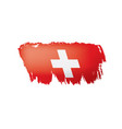 switzerland on a white vector image