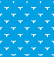 underpants pattern seamless blue vector image vector image