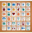 Color icons set vector image