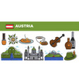 australia travel destination promotional poster vector image vector image