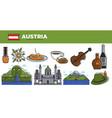 australia travel destination promotional poster vector image vector image