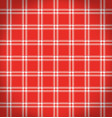 checkered tablecloth vector image vector image