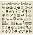 food icons 2014 vector image vector image