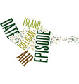 gilligan s island dvd review text background word vector image vector image