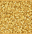 gold luxury shimmer sequins disco party vector image