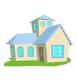 House icon cartoon style vector image