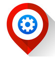 map pin red vector image vector image