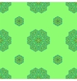 Ornamental Green Pattern vector image vector image