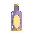 wine bottle liquor to special celebration vector image vector image