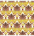 classic vintage seamless pattern vector image