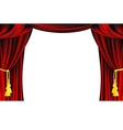 Theater Curtain vector image