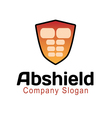 Abs Shield Design vector image