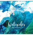 abstract hand painted watercolor background vector image vector image