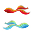 Creative fish signs vector image