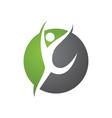 Healthy Life Logo Template vector image
