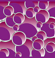 rose balls background vector image vector image