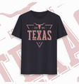 texas state graphic t-shirt design typography vector image
