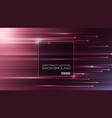 abstract straight lines with light on purple vector image vector image